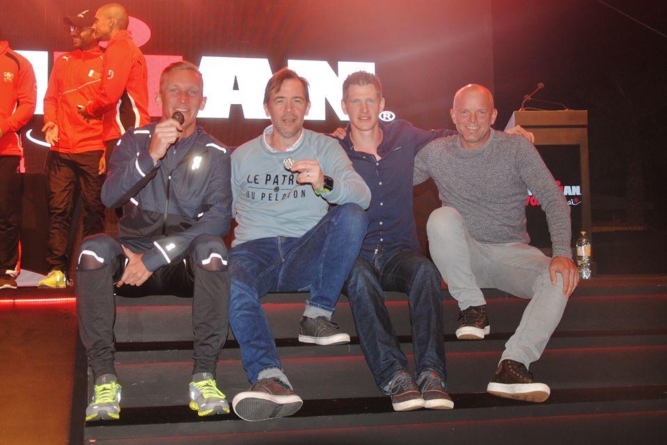 Belgen podium Dubai 2018