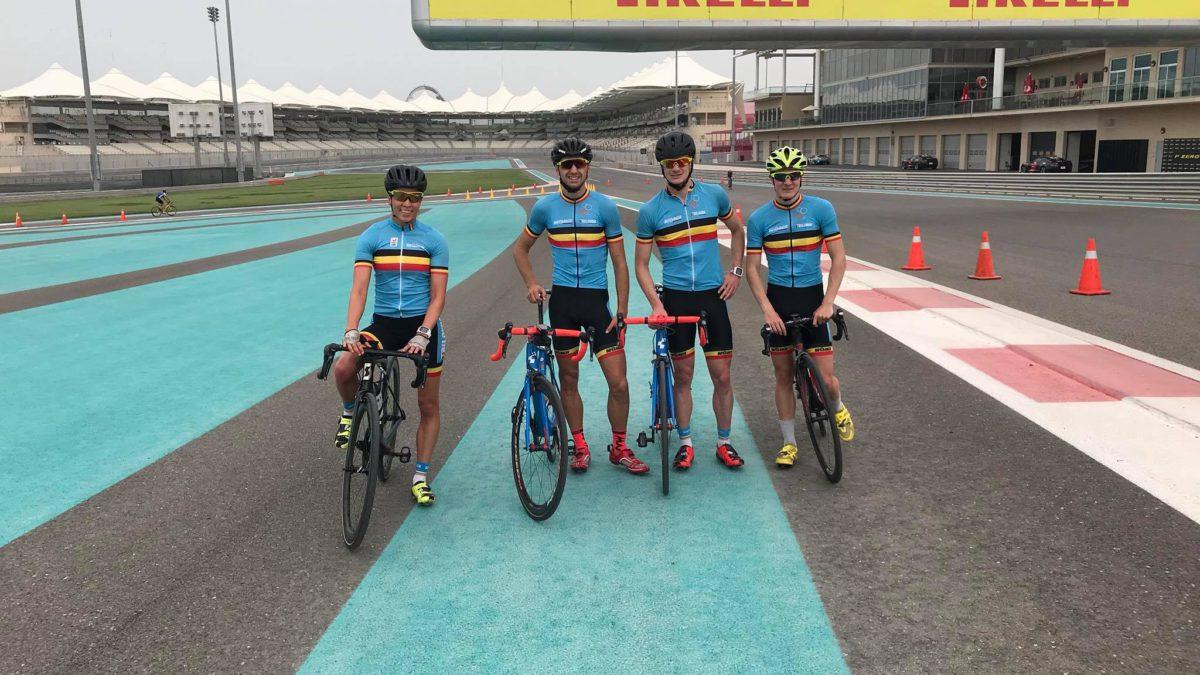 WTS Abu Dhabi met maar liefst 6 Belgische triatleten!