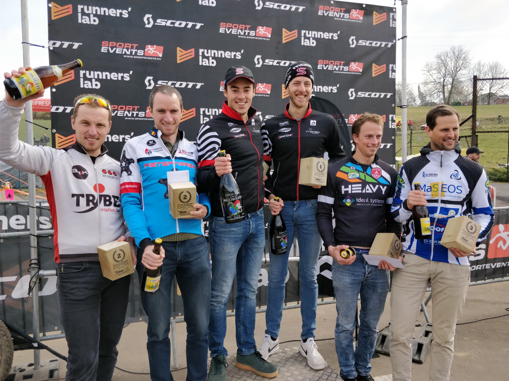 Grand Raid podium mannen 2018