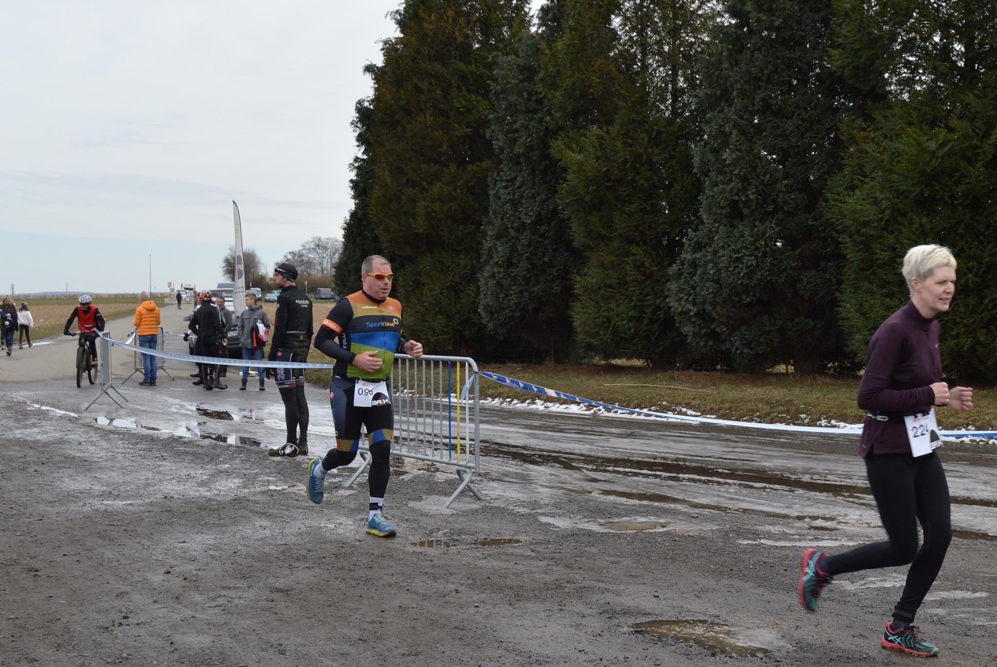 Hans Cleemput van 3athlon.be zelf in actie (foto: 3athlon.be/Caroline Dhondt)
