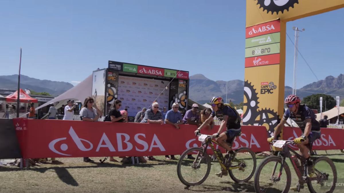 Ironmannen Kienle en Hoffman in top-25 Cape Epic