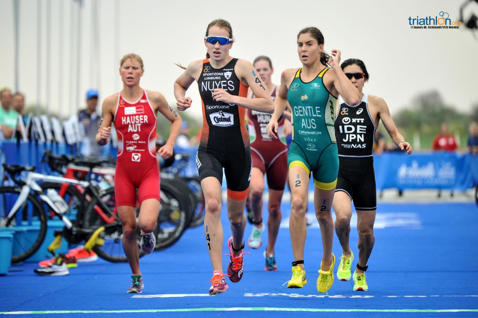 Kirsten Nuyes run Abu Dhabi