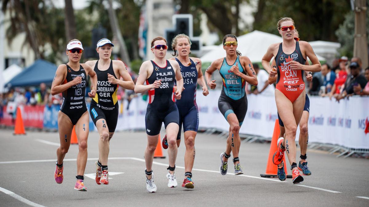 Duffy demonstreert, Belgische triatletes tonen zich in Bermuda