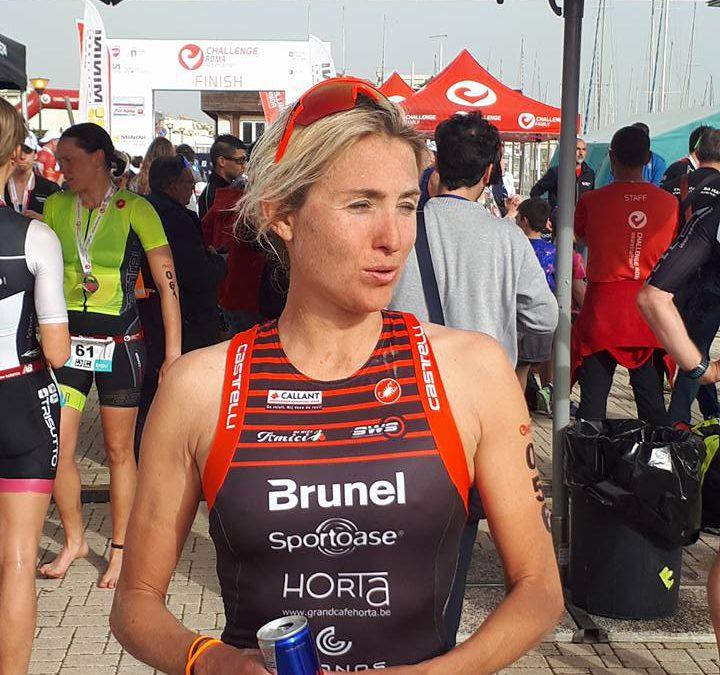 Verstuyft 4de en Goos 12de in halve triatlon Rome