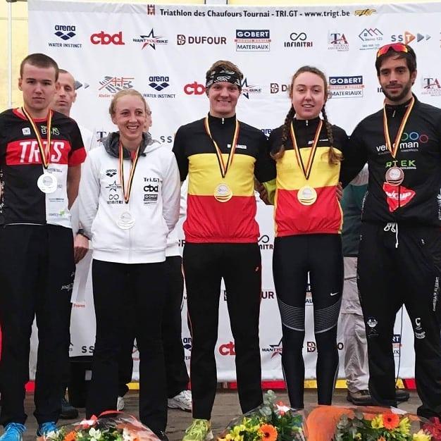 Wayaffe en Claisse pakken sprinttitels duatlon