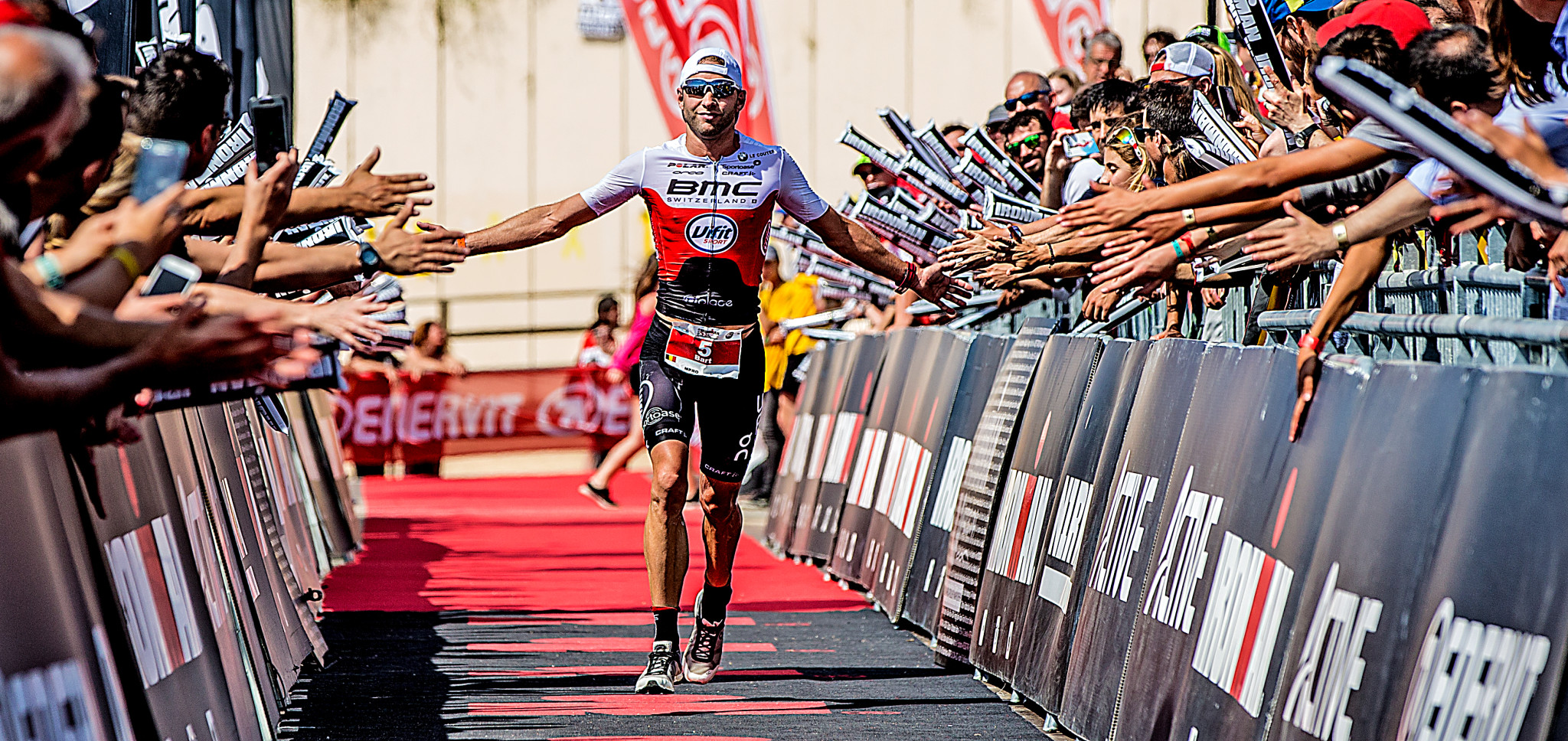Bart Aernouts 3de in Barcelona: (foto: 3athlon.be/Ingo Kutscheà