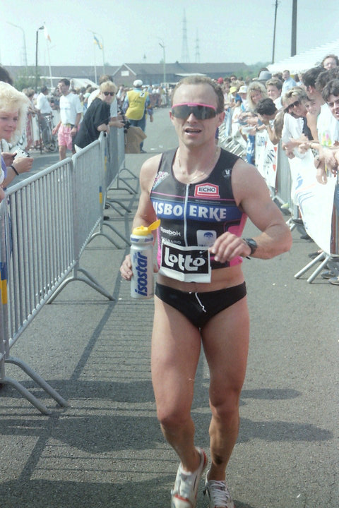 Eric Geboers in de triatlon van Mol (foto: 3athlon.be/Jef Cleemput)