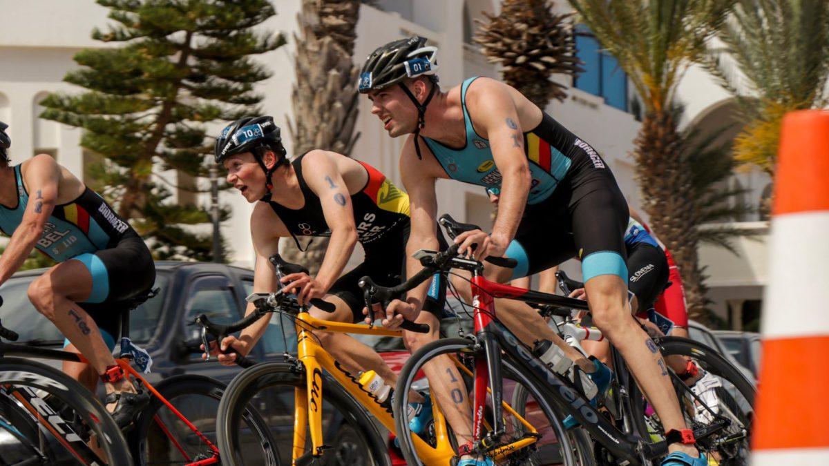 Pech voor Hernaert, Jurgens 14de in ATU triatlon Tunesië