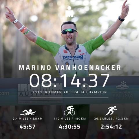 Marino Vanhoenacker Australia 2018