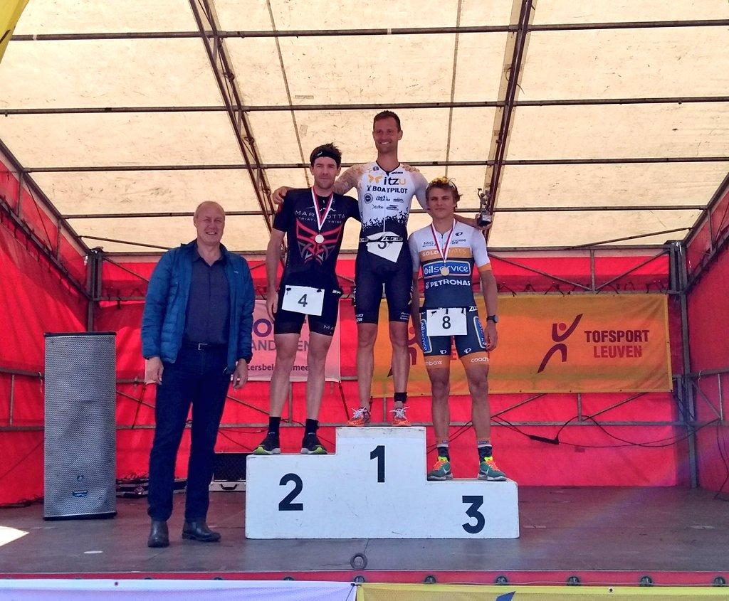 Ruben Geys podium Leuven 2018