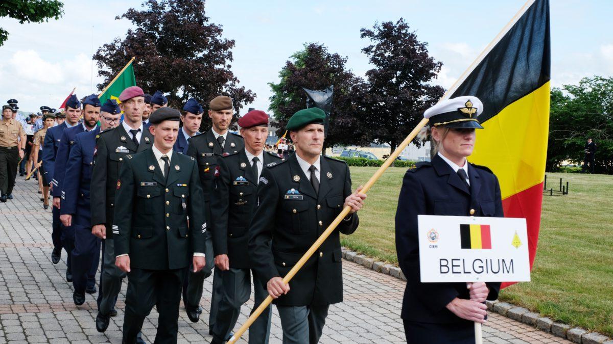 Belgische militairen grijpen net naast brons