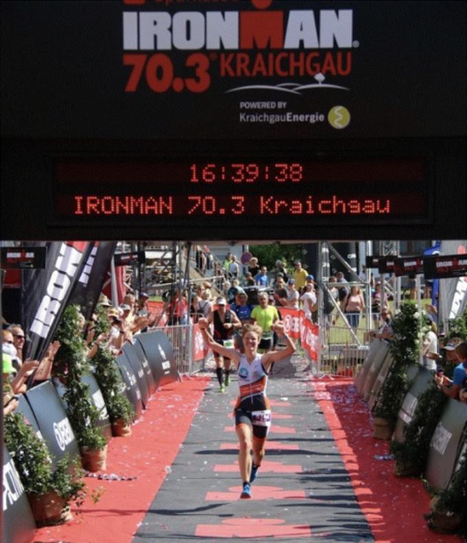 Bieke Trenson wint 5150 IM Kraichgau (foto: Bieke Trenson)