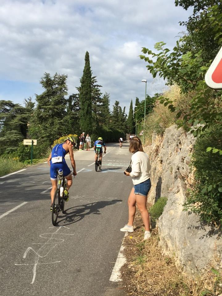 David De Grooff had een sterk fietsnummer in Nice (foto: Trinity)