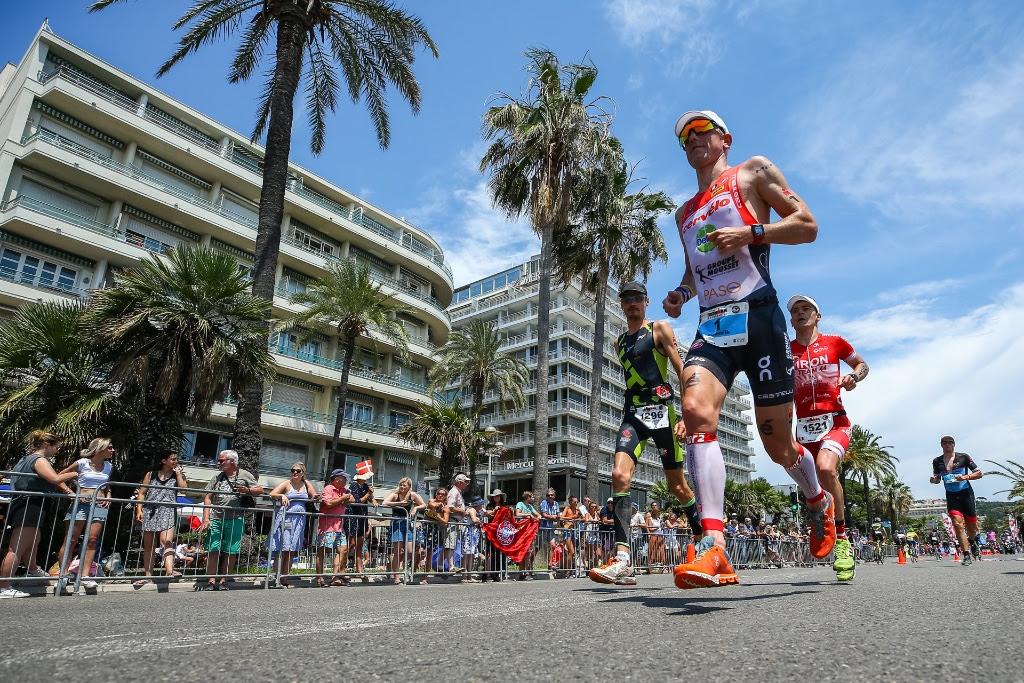 Frederik Van Lierde met een goeie marathon (foto: David Pintens)