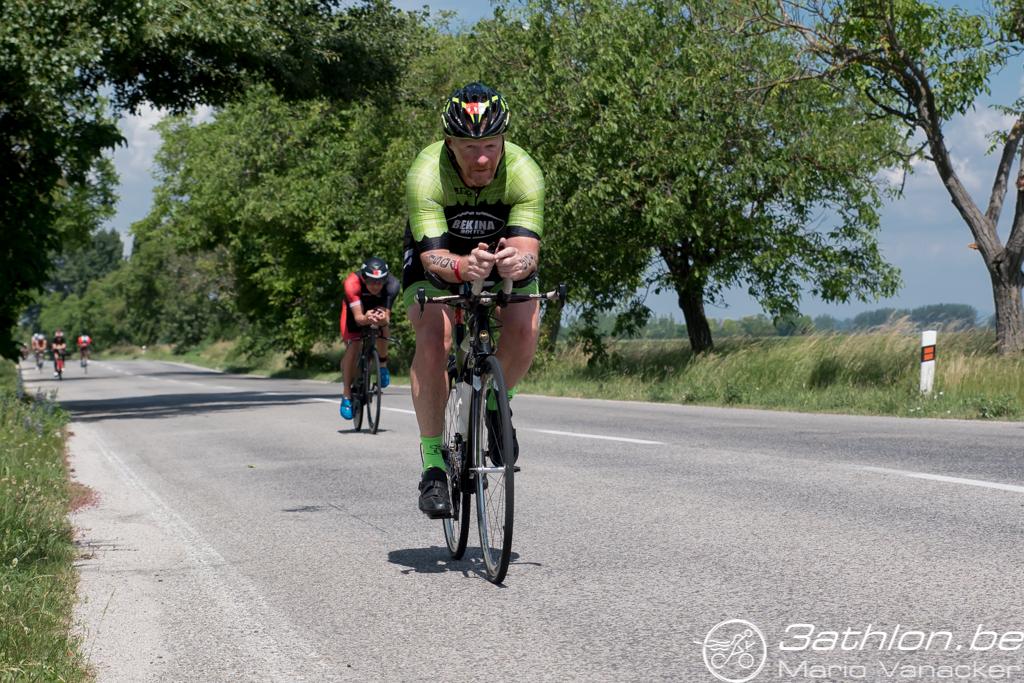 Patrick Van Den Broeke in Samorin (foto: 3athlon.be/Mario Vanacker)