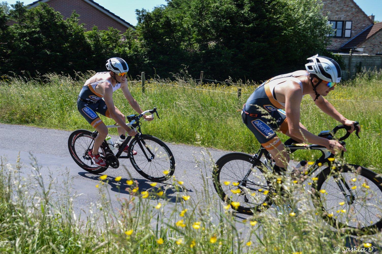 Sybren Baelde en Dries Demeulenaere (foto: Saskia Debeuf)