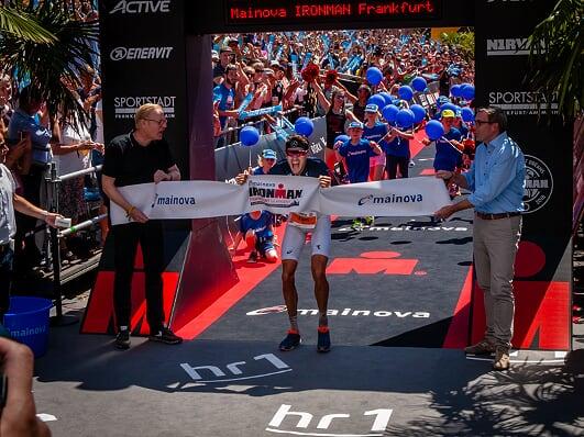 Jan Frodeno wint Frankfurt