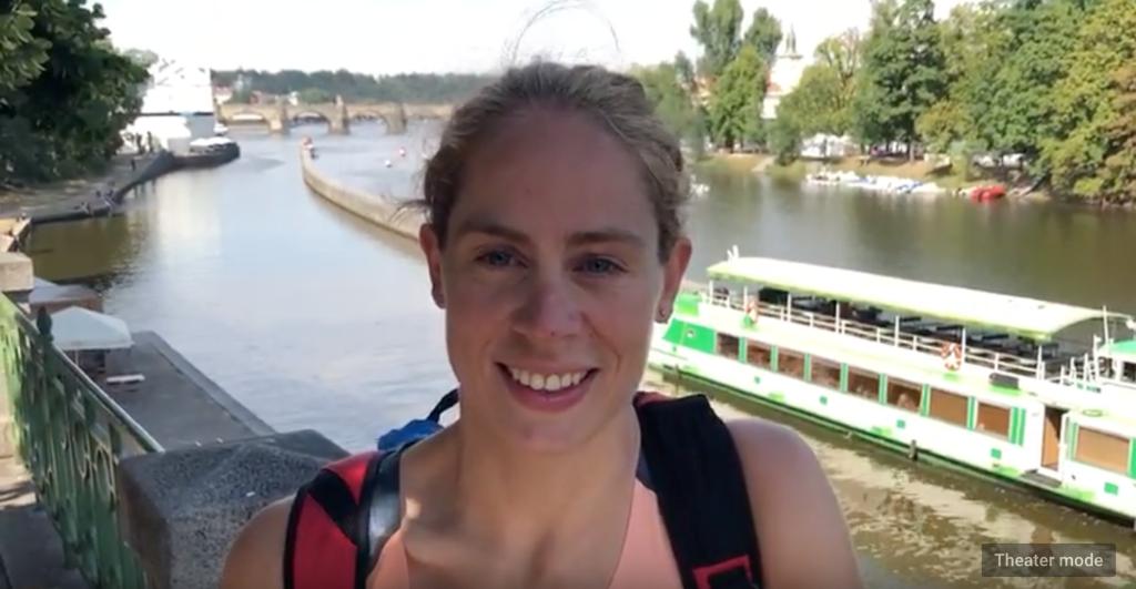 Katrien Verstuyft video Praag