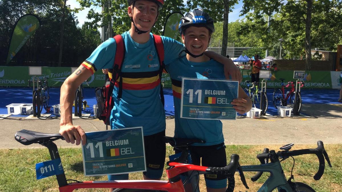 Rik en Hanne mogen naar Youth Olympic Games