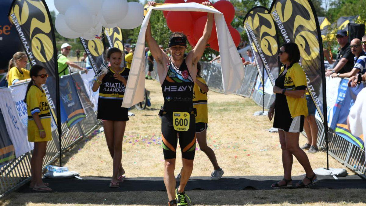 Yeray Luxem verlengt titel op BK cross triatlon