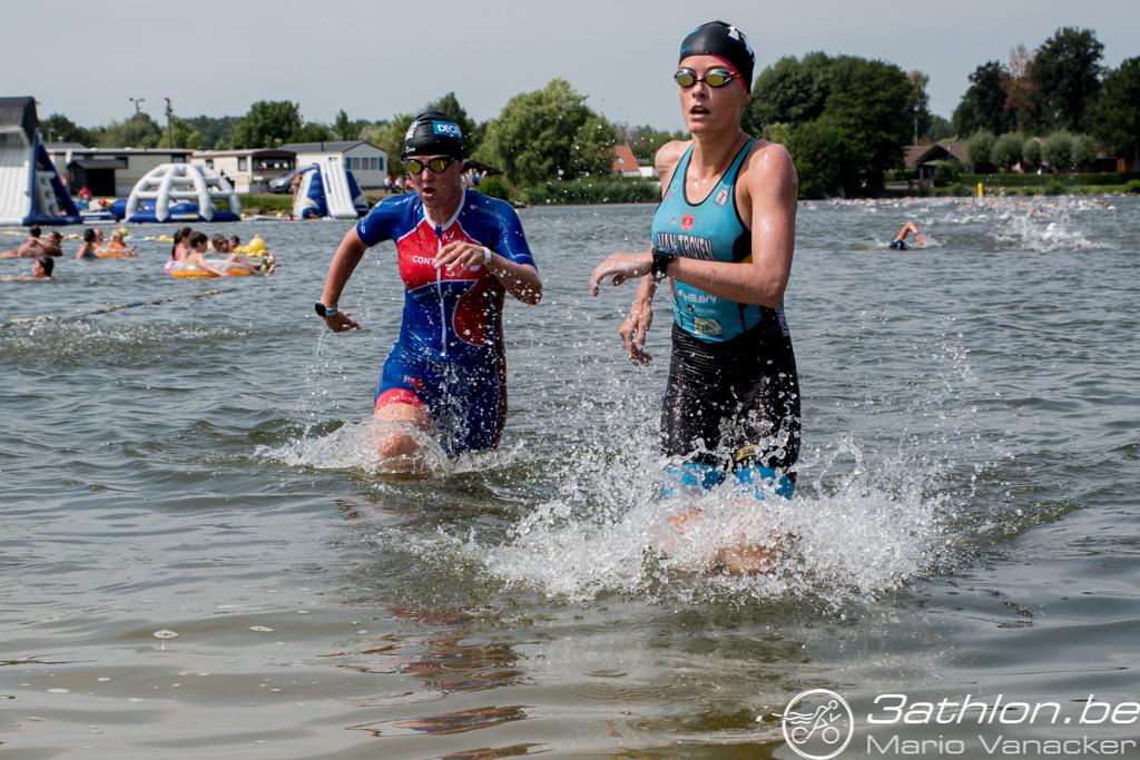 Ines Van Troyen swim Jabbeke