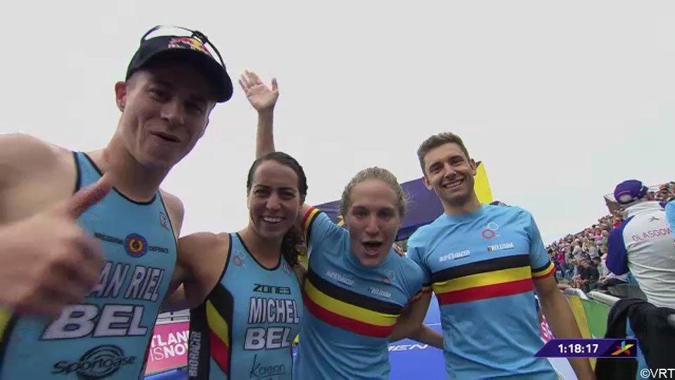 Team Belgium brons