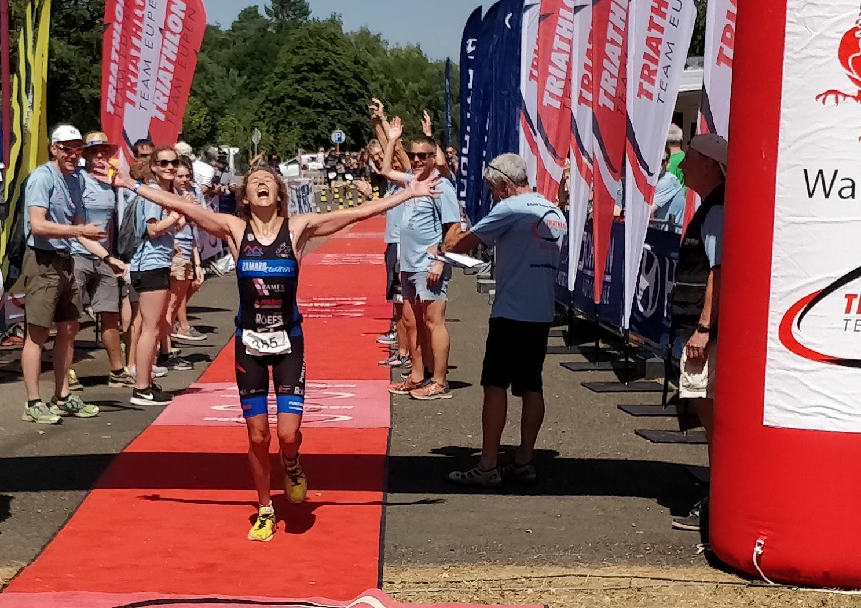 Kampioene Xenia Luxem (foto: 3athlon.be/Hans Cleemput)