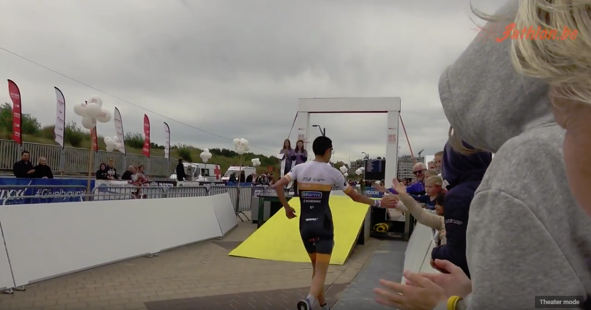 106 Halve triatlon Knokke Heist 2018 YouTube