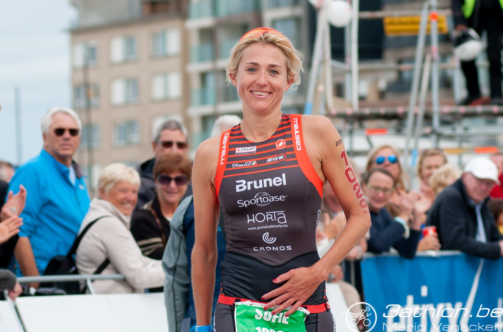 De halve triatlon van Knokke-Heist in the picture