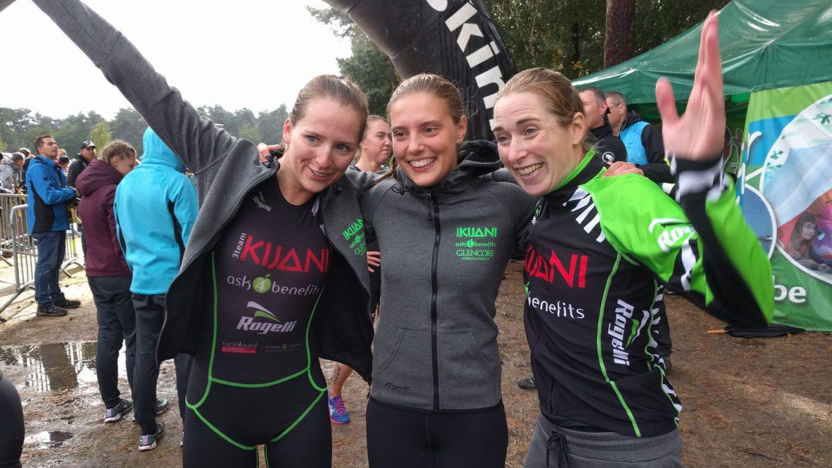 Trigt-mannen en Nederlandse Kijani-vrouwen winnen Holland-België