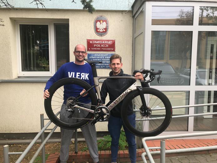 Triatleet helpt Nederlandse gestolen fiets terug te vinden in Polen