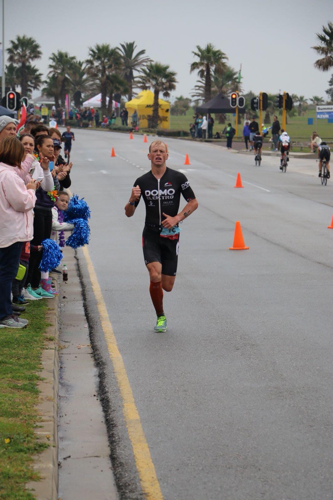 Pieter loopt naar de vijfde plaats (foto; Sander Heemeryck)