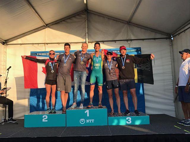 Eerste Belgische medaille is binnen op WK triatlon Gold Coast