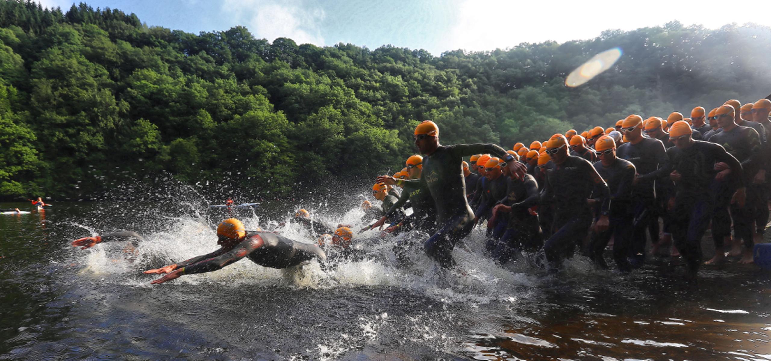 Zwemstart Sportevents