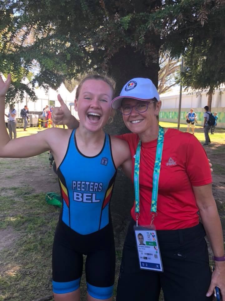 Hanne Peeters net in top-10 op Youth Olympic Games