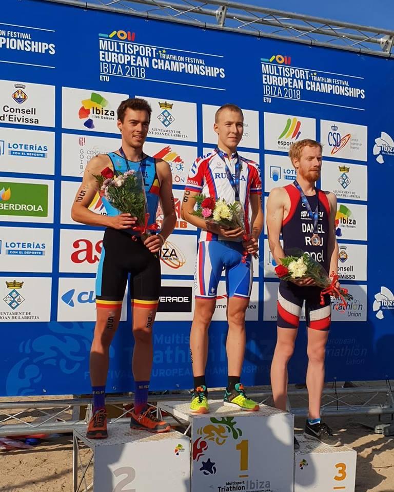 Zilver voor Lucas Van Deynze op EK cross duatlon