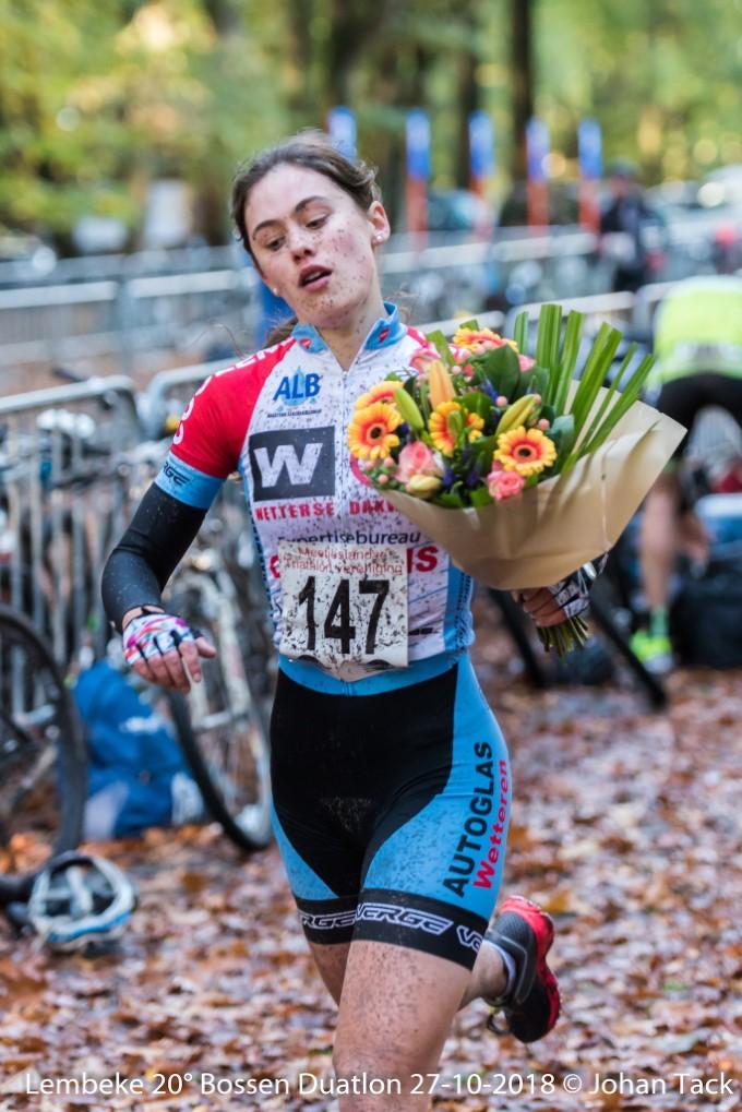 Winnares Myrthe De Ruijsscher (foto:3athlon.be/Johan Tack)