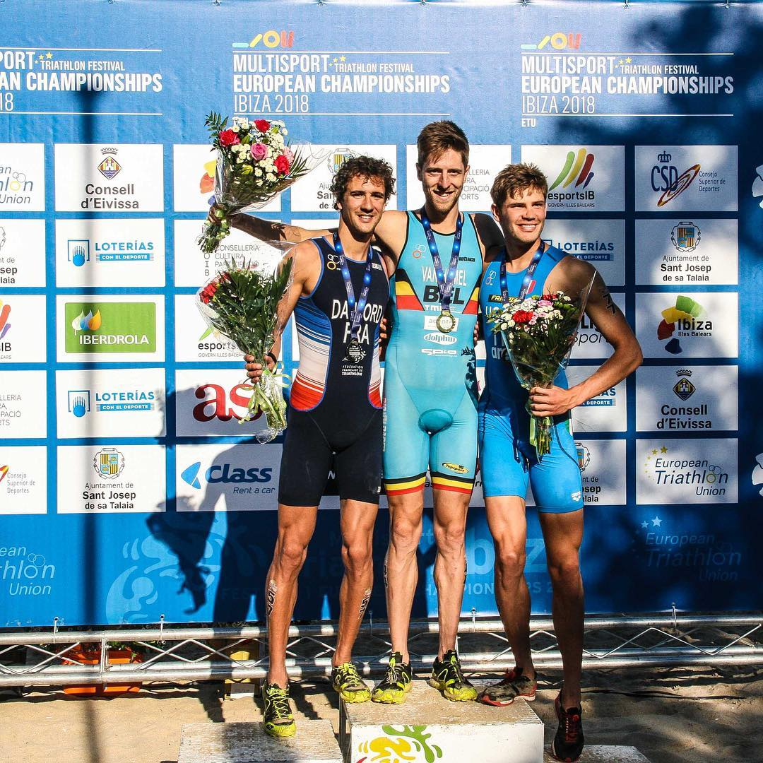Tim Van Hemel podium EK cross