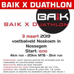 BAIK X Duathlon 2019