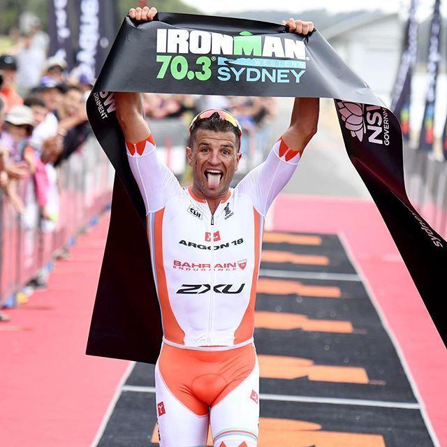 Wat een comeback! Bozzone wint 70.3 IM Western Sydney