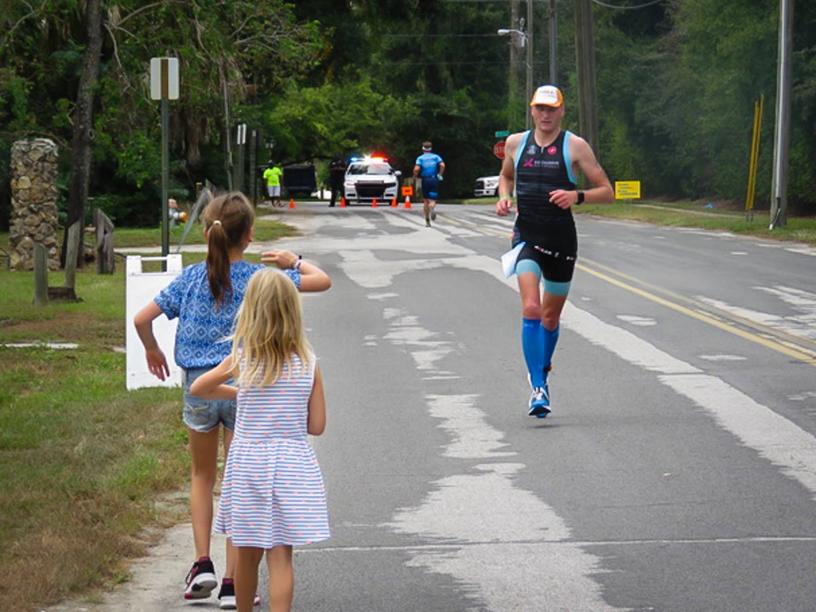 Dominic De Caluwe in de Ironman Florida (foto: Domini De Caluwe)