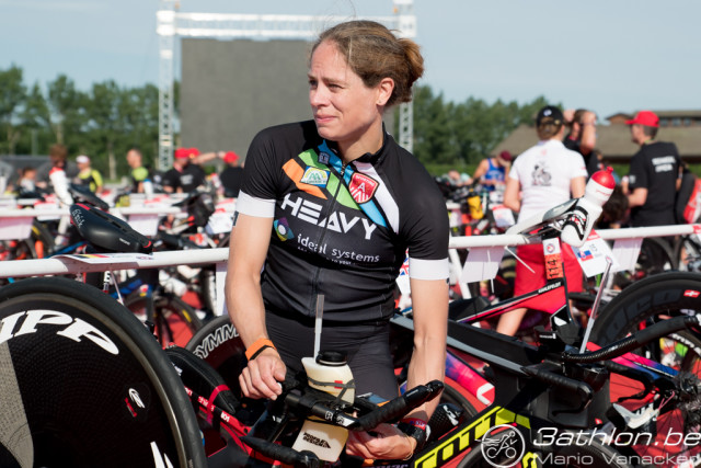 Katrien Verstuyft Samorin bike checkin