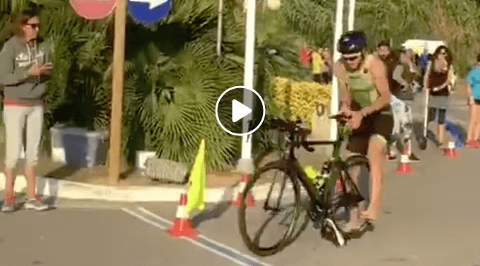 Is dit de snelste bike dismount ooit?