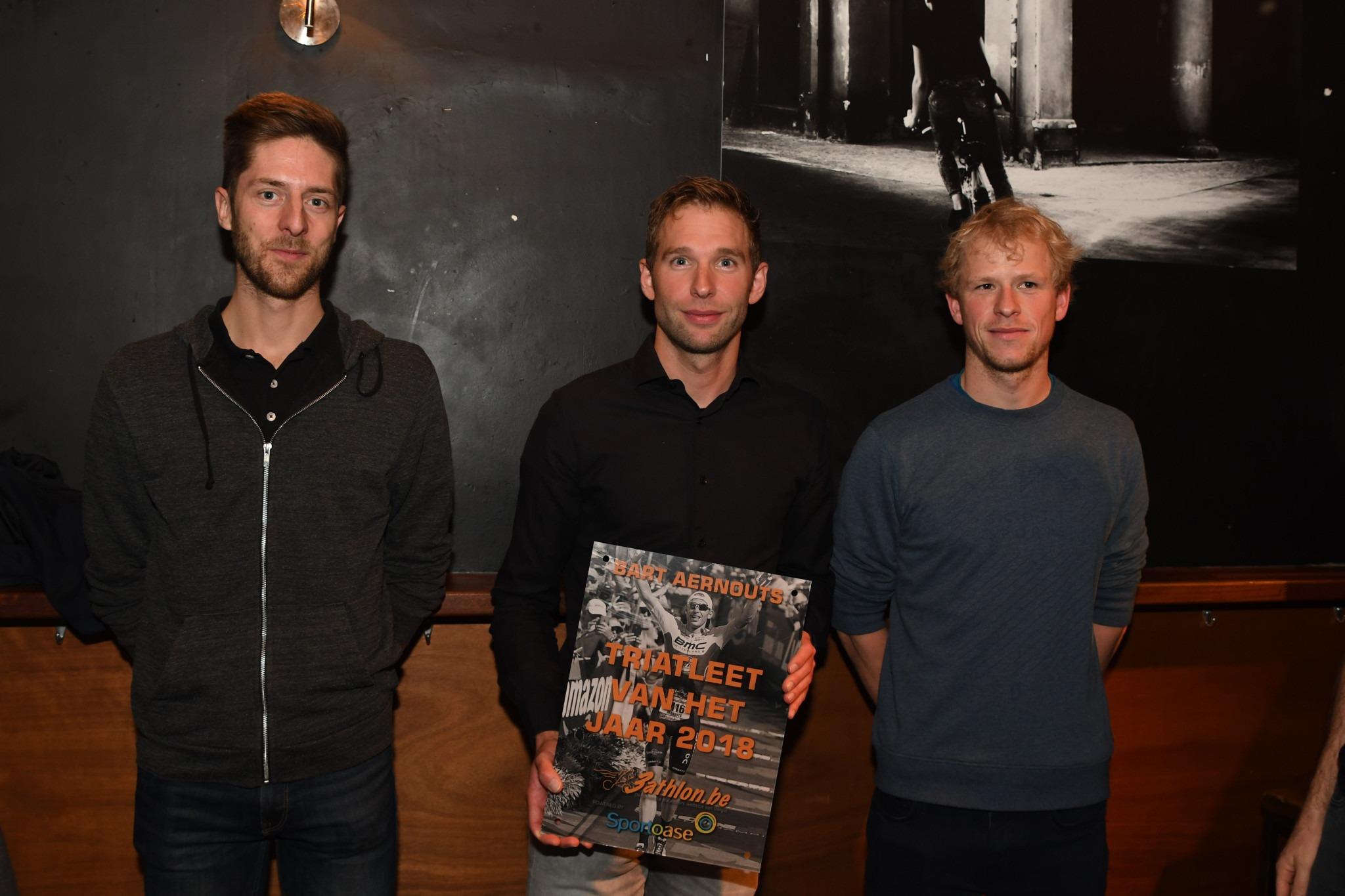 Bart Aernouts en Katrien Verstuyft triatleten van het jaar