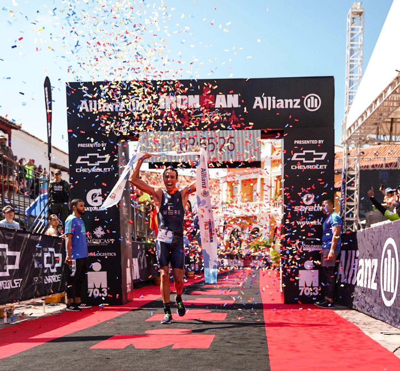 Paulo Maciel wint 70.3 IM Cartagena (foto: Ironman)