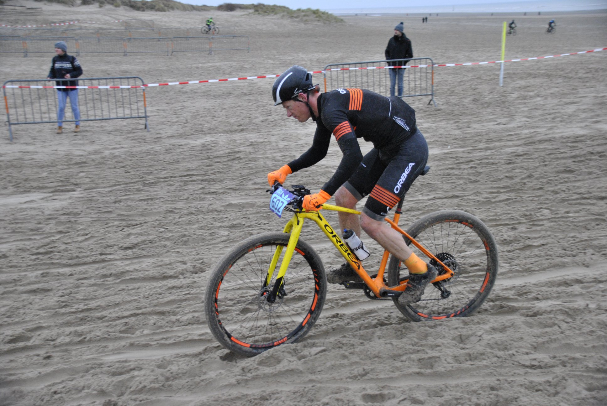 Seppe Odeyn is King of the Beach in Oostduinkerke