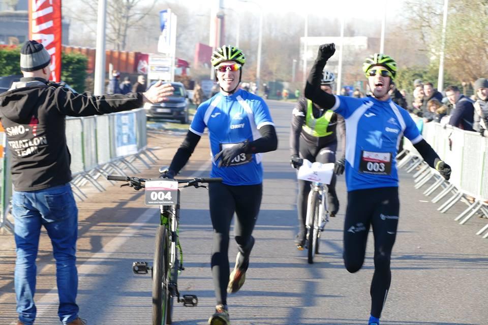 Na 8 jaar eindelijk de Omey broers in Run & Bike Eeklo
