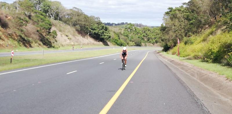 Kenneth Vandendriessche 7de in 70.3 Ironman Zuid-Afrika