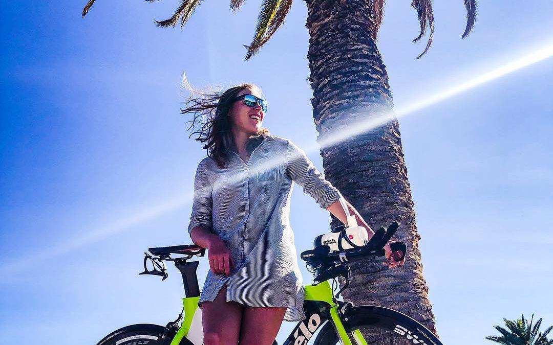 """""""Ideale acclimatisatie voor 70.3 Dubai"""" Sara Van De Vel in Namibië"""