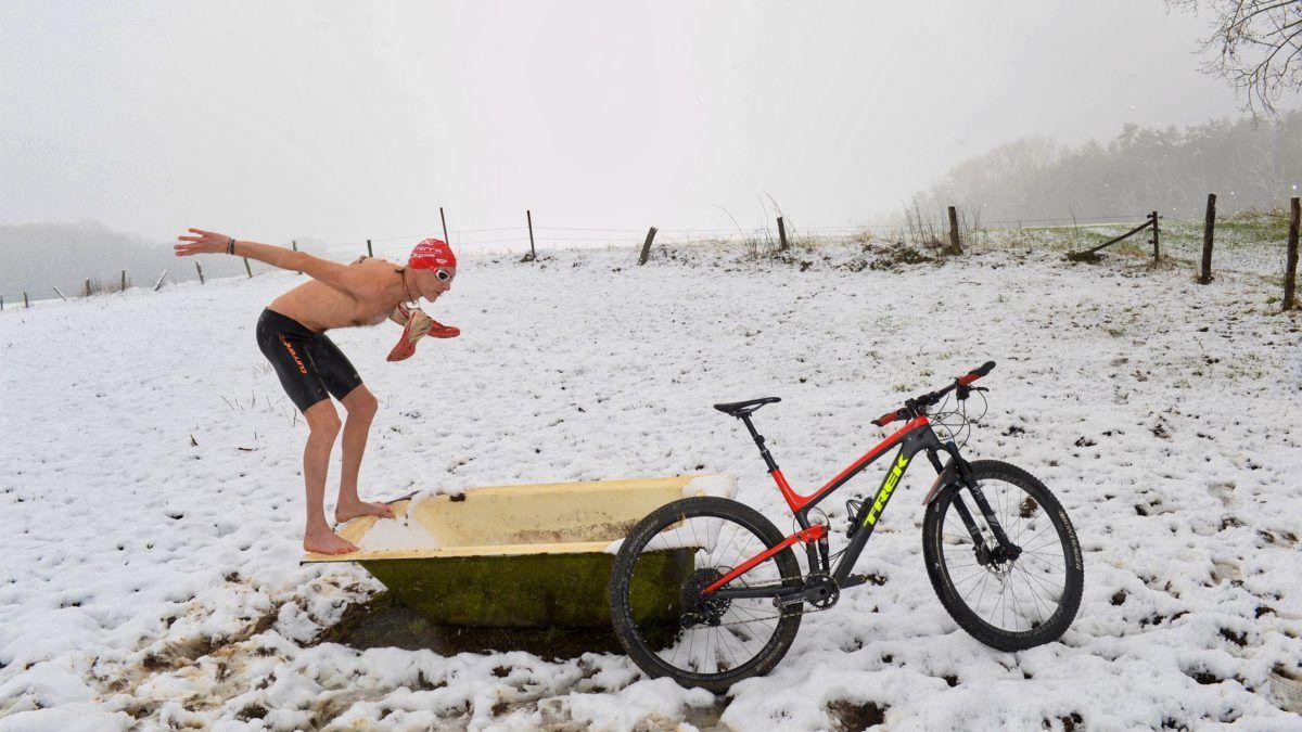Ideale voorbereiding op Belgisch triatlonseizoen…